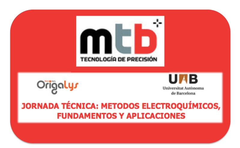 Jornada Técnica MTB: Métodos electroquímicos, fundamentos y aplicaciones