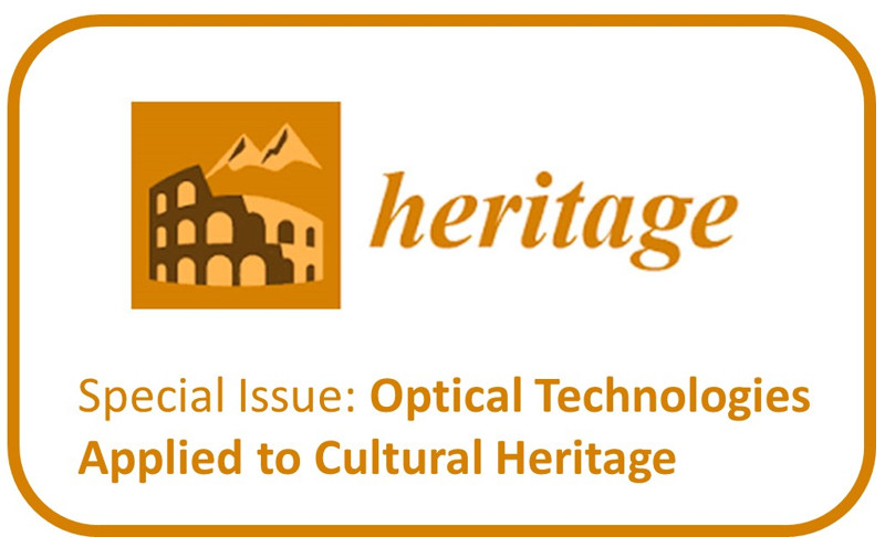 "Número especial ""Optical Technologies Applied to Cultural Heritage"""
