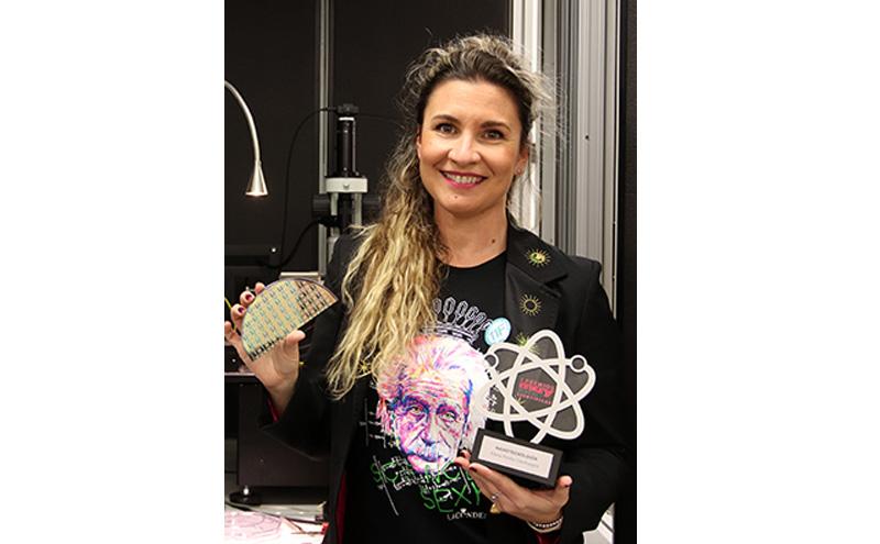 """Elena Pinilla, del NTC, Premio """"Muy Jóvenes Científicas"""""""
