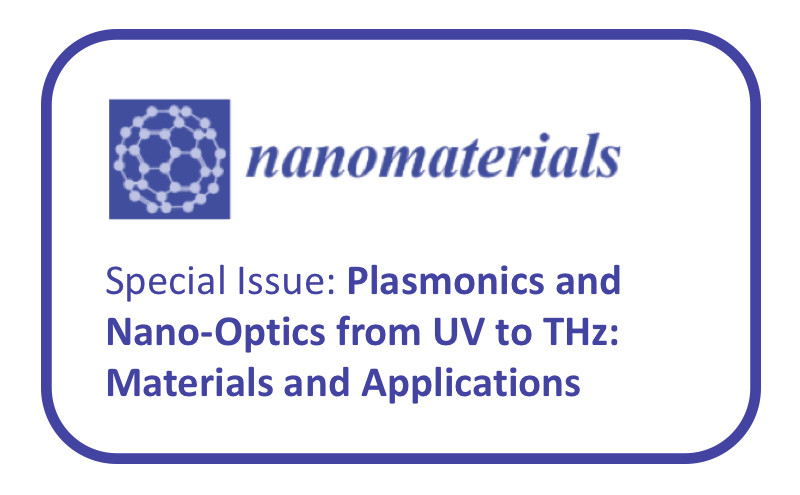 Número especial PLASMONICS & NANO-OPTICS FROM UV TO THz