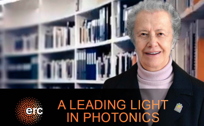A Leading Light in Photonics. Entrevista a María J. Yzuel en ERC Magazine