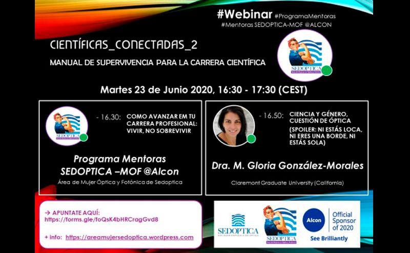 Científicas Conectadas 2 - Webinar Programa de Mentoras SEDOPTICA-MOF @ Alcon