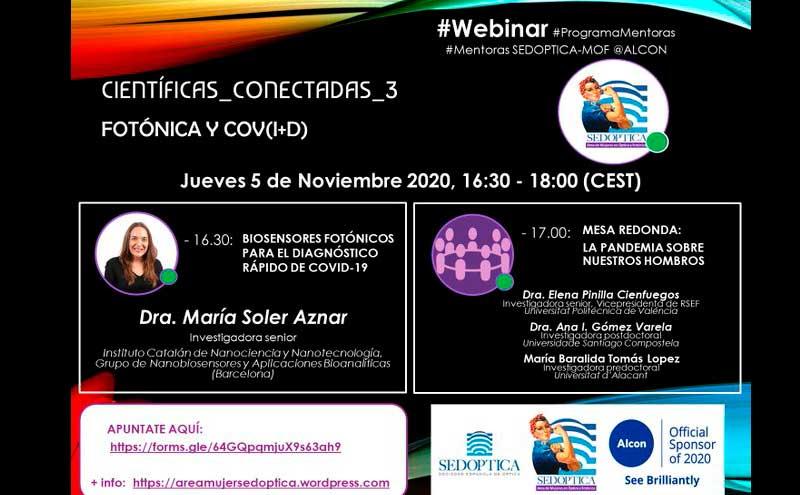 Científicas Conectadas 3 - Webinar Programa de Mentoras SEDOPTICA-MOF @ Alcon