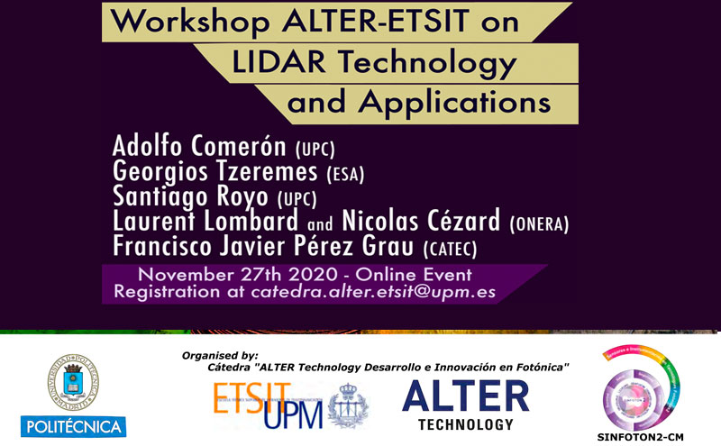 Workshop on Lidar Technology and Applications ALTER-ETSIT