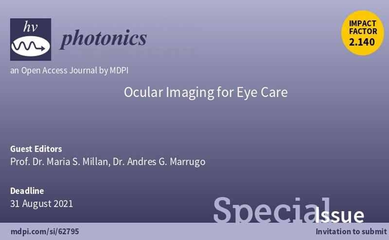 "Número especial en la revista Photonics - ""Ocular Imaging for Eye Care"""