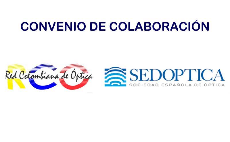 Convenio de colaboración entre SEDOPTICA y la Sociedad Red Colombiana de Óptica (RCO)