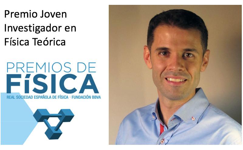 Carlos Hernández Premio Investigador Joven en Física Teórica BBVA-RSEF