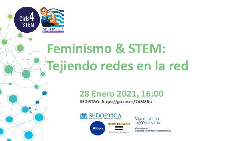 Feminismo & STEM: Tejiendo redes en la red
