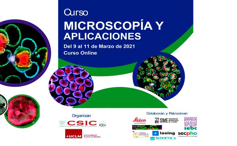 Curso sobre Microscopía y Aplicaciones