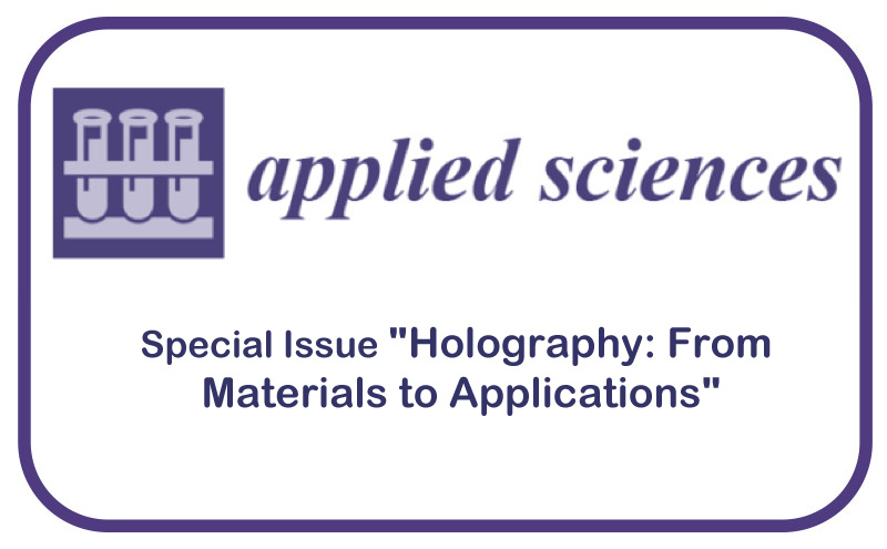 """Número especial """"Holography: From Materials to Applications"""""""