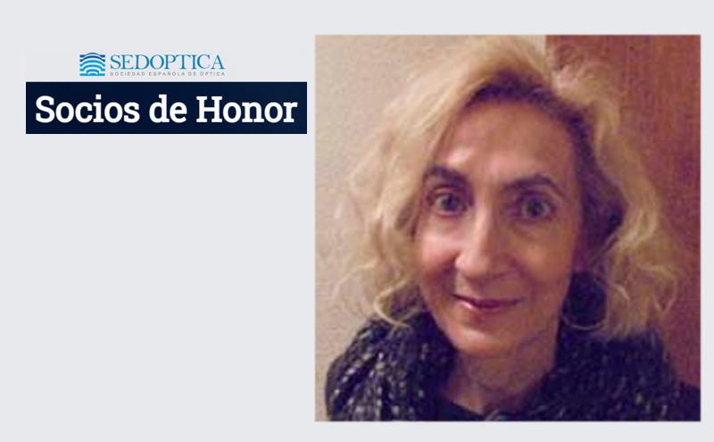 Rosario Martínez Herrero nombrada Socia de Honor de SEDOPTICA