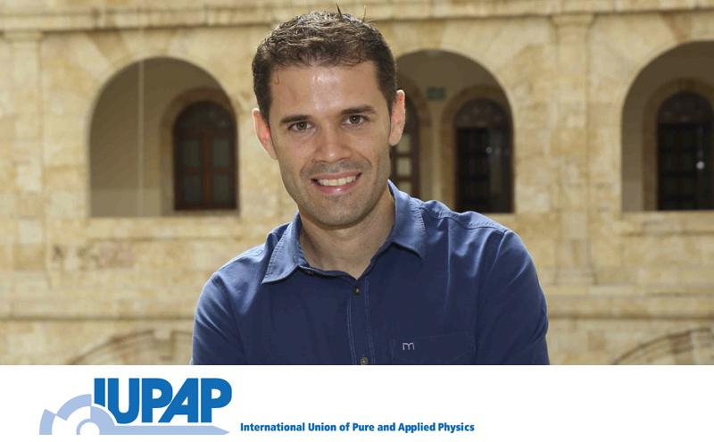Carlos Hernández-García galardonado con el  IUPAP Young Scientist Prize In Atomic, Molecular And Optical Physics 2021