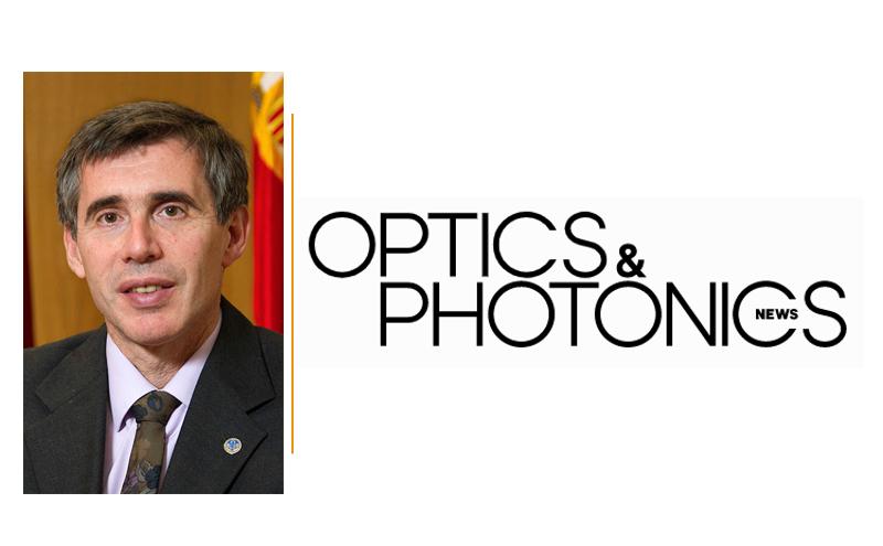 Entrevista a Javier Alda en Optics & Photonics News