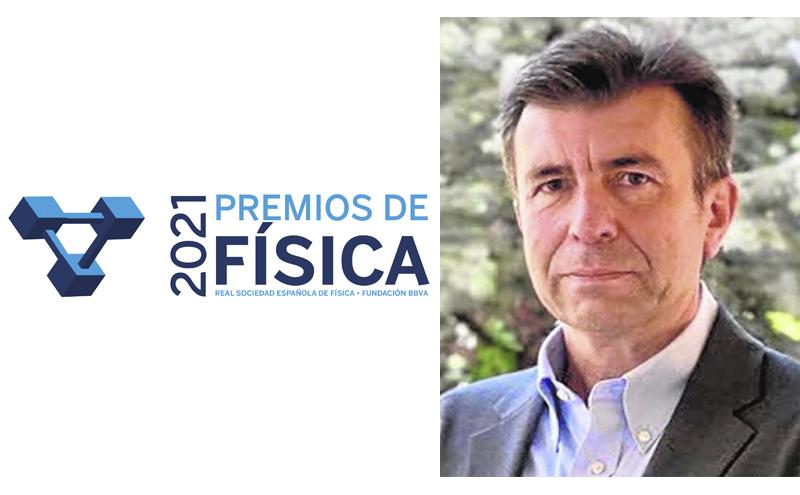 Pablo Artal recibe la Medalla de la Real Sociedad Española de Física