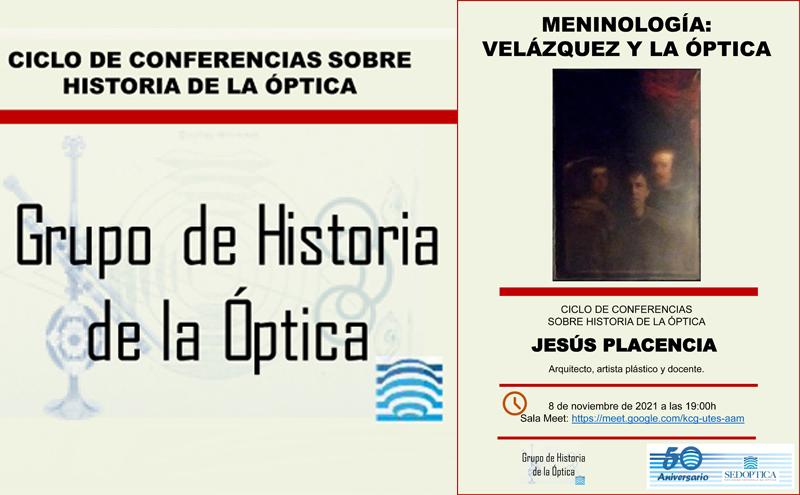 Ciclo de Conferencias sobre Historia de la Óptica - Meninología: Velazquez y la óptica